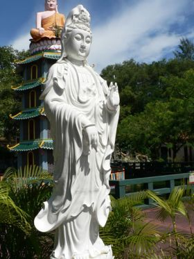 Statue of Kwan Yin, the Great Bodhisattva of Compassion