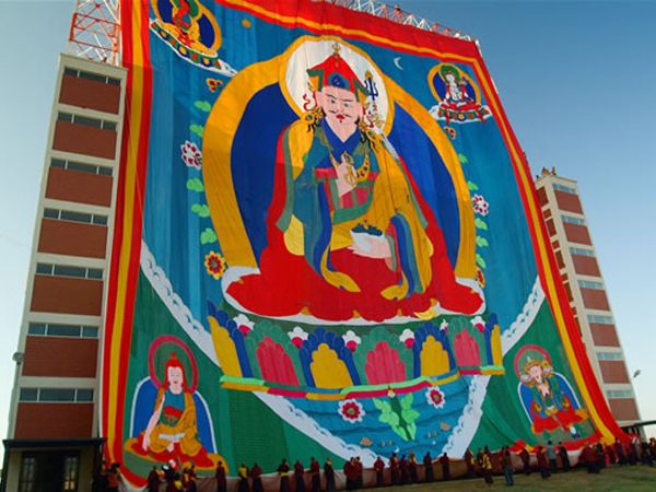 Giant Thangka