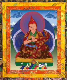 Thangka image of The Fourth Karma Kuchen Rinpoche