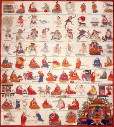 Thangka from the Ancient Tibetan Medical Text,