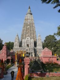 Mahabodhi Temple at Bodhgaya, India