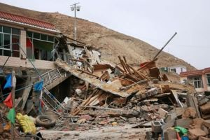 Devastation of Yu Shu Earthquake