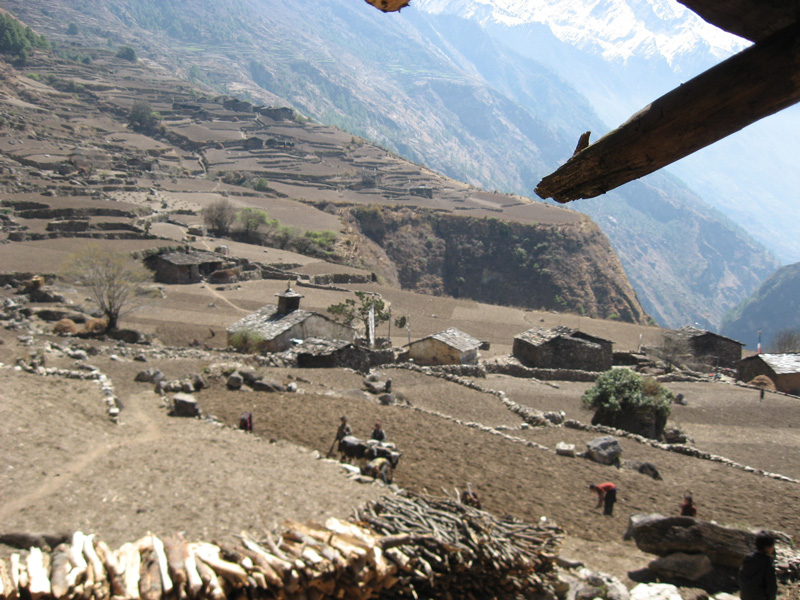 Khenpo Tsultrim Tentar home village.