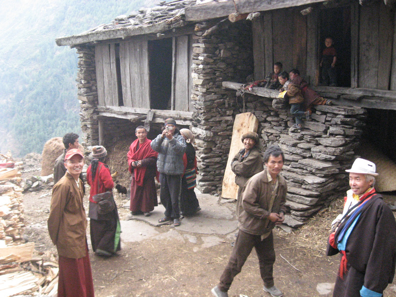 People of the village.