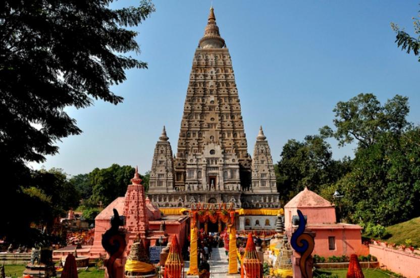 Mahabodhi Templul în Bodhgaya