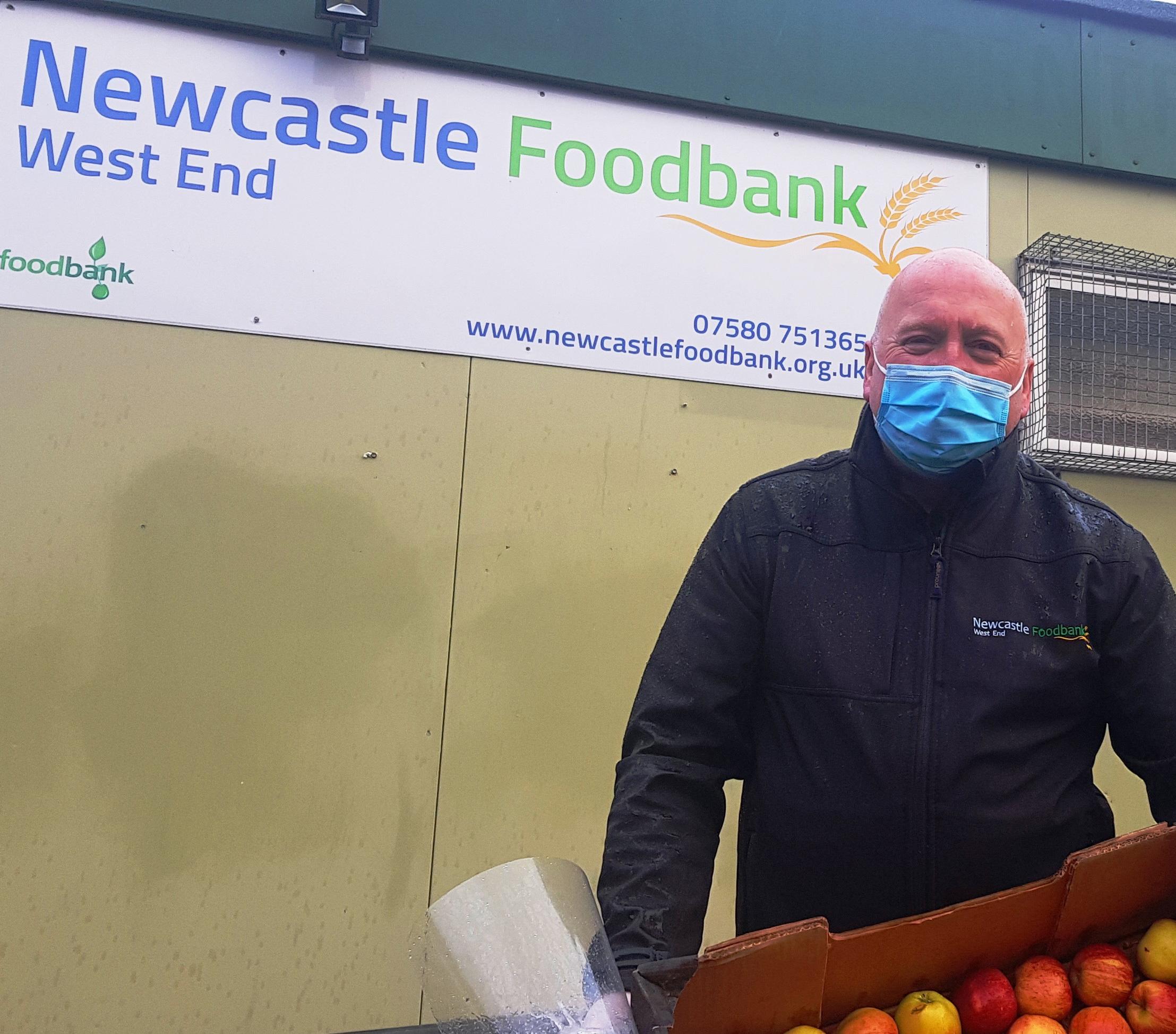 John McCorry a primit o livrare de alimente de la Pathgate
