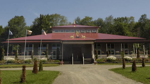 Templul Centrului de Retragerea Palyul, Up-State New York, SUA