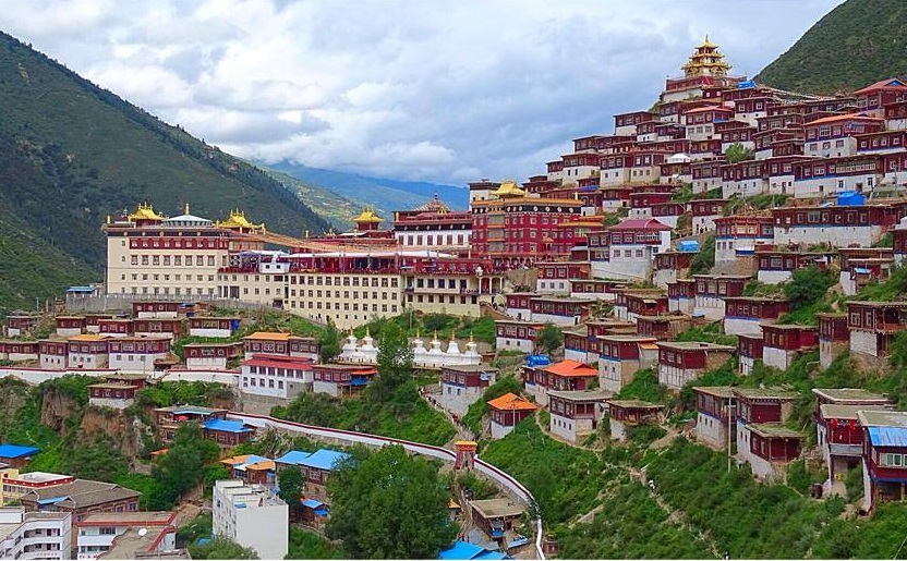 Mănăstirea Palyul Namgyal Jangchub Choeling, Tibet