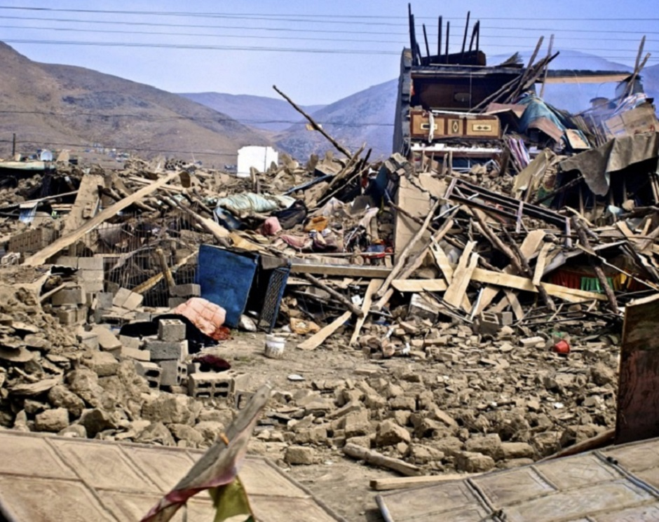 Urmările cutremurului din Yushu