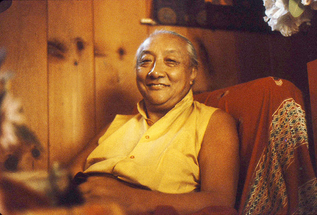 His Holiness Dilgo Khyentse Rinpoche