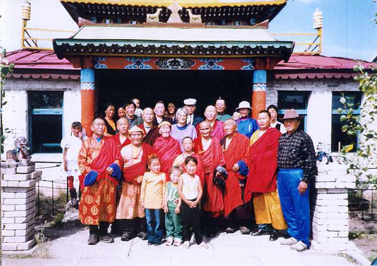 Buddhist temple in Mongolia sponsored by Pathgate