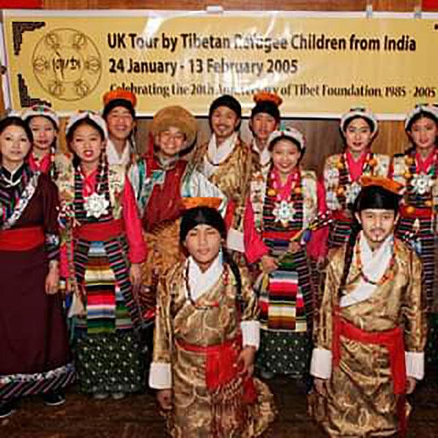 UK Tour by Tibetan Refuge Children from India