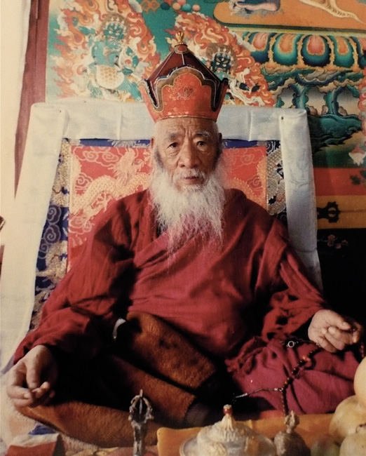 HH Kyabje Chadral Sangye Dorje Rinpoche