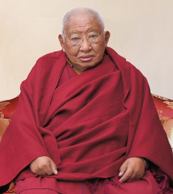 HH Kyabjé Taklung Tsetrul Rinpoche